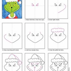 How to Draw the Grinch
