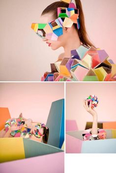 wearable art - Fred Butler http://www.turtlewings.be/think-about-paper-fashion/