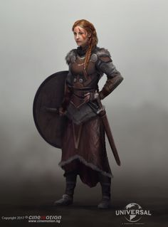 Viking Concept, by Miro Petrov Female Viking character concept art Viking Character, Female Character Concept, Fantasy Character Design, Character Inspiration, Character Art, Dungeons And Dragons Characters, Dnd Characters, Fantasy Characters, Female Characters