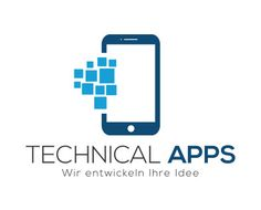 Neues Logodesign - TECHNICAL APPS     #logodesign #designtomakeadifference #unaufhaltbar #LEWEB #Appdesign #App #Apps Logo Design, Apps, Simple Logos, App, Appliques