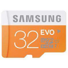 BARGAIN Samsung Memory 32GB Evo MicroSDHC NOW £11.68 At Amazon - Gratisfaction UK Bargains #samsung