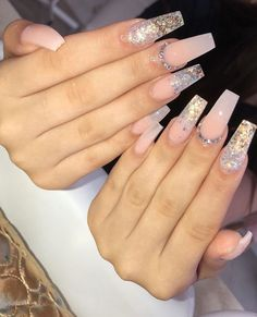 How to choose your fake nails? - My Nails Pink Acrylic Nails, Acrylic Nail Designs, Aycrlic Nails, Coffin Nails, Acryl Nails, Fire Nails, Manicure E Pedicure, Dream Nails, Nail Swag