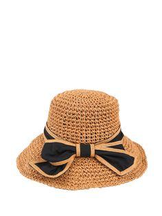 Shop Hats - Camel Resort Hat online. Discover unique designers fashion at StyleWe.com.