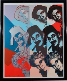 Andy Warhol | The Marx Brothers (Ten Portraits of Jews of the Twentieth Century) (1980) | Available for Sale | Artsy