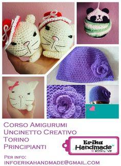 Corso #Amigurumi #uncinetto creativo #torino