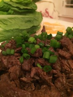 Korean Marinated Beef. Lovely simple and tasty idea. Make sure the beef is grass fed