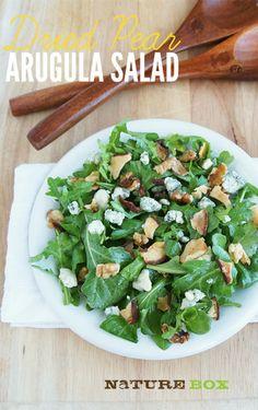Pear Arugula Summer Salad.
