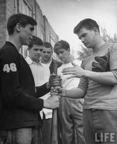 In 1940 as many as 8 out of 10 high school graduate teen boys went to war. The teenage boys and college age young men who remained were part...