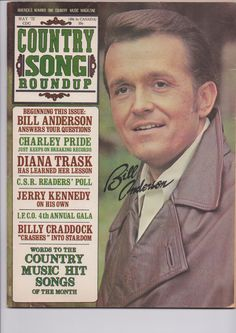 Vintage Country Song Roundup May 1972**Charley Pride**Bill Anderson by DickeyLewis on Etsy