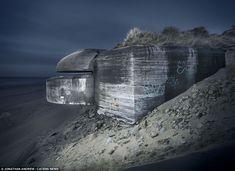 Photos de bunker de la seconde guerre mondiale par Jonathan Andrew