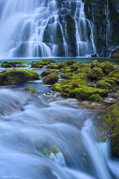 One of our most famous waterfalls here in Austria - the Golling Waterfall in Salzburger Land. Photo by Andreas Resch