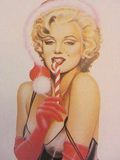 Marilyn Monroe portrait by Olivia (Olivia De Berardinis) fave find for dec 9 , 2012