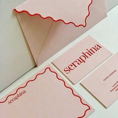 Scalloped edged stationery on Extract Shell for by and Identity Design, Design Brochure, Logo Design, Web Design, Stationery Design, Graphic Design Typography, Design Art, Print Design, Identity Branding