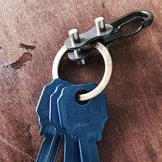 Keychain Carabiner bike EDC