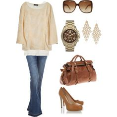 Second outfit with this Michael Kors watch. I might need it!