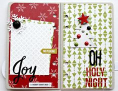 December Daily Ideas - Live The Moment: Paper Camellia December Days Christmas Countdown Mini Album