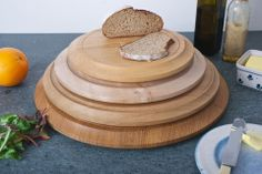 Hand Turned Bread Boards – Peter Hall & Son