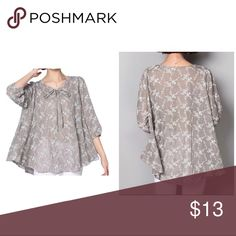 Boho Chic. Loose Style. Blouse Boho Chic. Loose Style. Blouse. Lightweight Linen. Casual. Tops Blouses