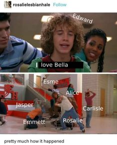 Twilight Jokes, Twilight Movie, Alice And Jasper, Twilight Saga Series, Boy Meets World, Music Humor, Appreciation Post, Hunger Games, Tv Shows
