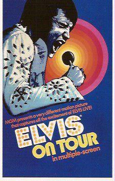 Elvis On Tour    Elvis Movie #33  Metro-Goldwyn-Mayer   1972