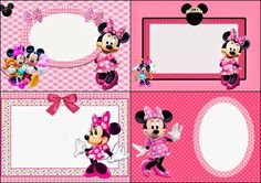 Printable Minnie Mouse Invitations Fresh Minnie Mouse In Pink Free Printable Invitations Labels or Cards Oh My Fiesta In English Minnie Mouse Clubhouse, Minnie Mouse Party, Mouse Parties, Free Printable Invitations, Party Invitations, Invitation Ideas, Disney Printables, Free Printables, Happy Birthday Cards