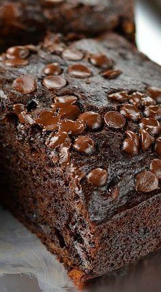Healthy-ish Double Chocolate Banana Cake