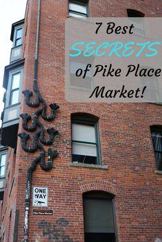 7 Best Kept Secrets of Pike Place Market in Seattle WA Accessories Seattle Vacation, Seattle Travel, Seattle Weekend, Vacation Ideas, Seattle Pike Place Market, Seattle In A Day, Seattle Sightseeing, Visiting Seattle, Things To Do Seattle