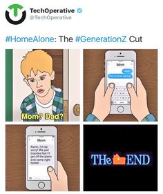 If Home Alone Happened Today Mom? ~ Memes curates only the best funny online content. The Ultimate cure to boredom with a daily fix of haha, hehe and jaja's. Stupid Funny, Funny Cute, Funny Stuff, Funny Things, Mom Funny, Funny Laugh, Random Things, Random Stuff, Dankest Memes