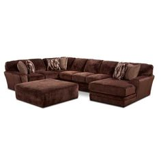 Everest 3PC Sectional w/ RAF Chaise G-437RC-3PC