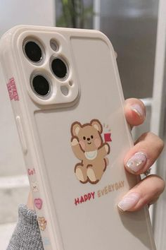 Funny Happy Bear Phone Case for iPhone