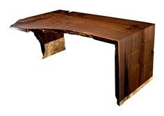 Designlush offers a full range of custom made to order live-edge + solid slab wood desk options. Let us help outfit your premier office, executive space or special personal home office with one of these signature + unique pieces. Organic, sophisticated, rustic + modern, these specialty desks are both artful + magnificent - a demanding focal point of any room. Custom made to fit your needs + style.