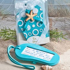 Flip Flop Luggage Tag Favors 1.10
