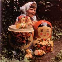 A nest of 30 dolls, Zagorsk 1958...WOW...that's a real masterpiece!