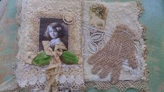 Altered Lace Book by Bears and Old Lace