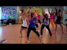 The Time (Dirty Bit) Cardio Dance FITNESS Warm Up ~ great workout!! em
