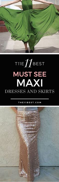 The 11 Best Maxi Dresses and Skirts