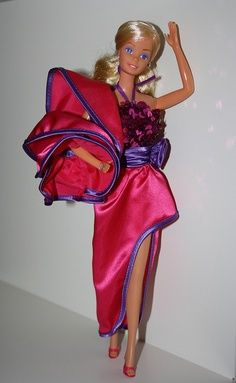 1980's barbie dolls - This was my first Barbie my mom ever bought me. At a Kmart, I think.
