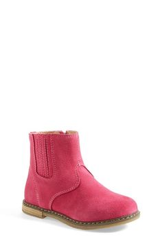Free shipping and returns on Tucker + Tate 'Tegan' Ankle Bootie (Toddler & Little Kid) at Nordstrom.com. Rich suede captivates a charming boot designed with elastic goring at the side for a comfortable fit.