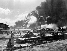 Ghosts of Pearl Harbor are brought to life 76 years later in pictures