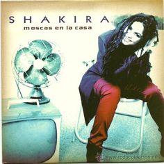 moscas en la casa shakira | SHAKIRA. Moscas en la casa (promo cd single 1999) (Música - CD's Pop)