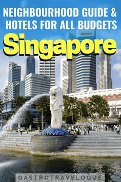 Where to stay in Singapore areas explained with a hotel guide Stay In Singapore, Singapore Travel, Travel Advice, Travel Guides, Travel Tips, Travel Plan, Budget Travel, China Travel, India Travel