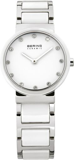 Bering White Ceramic Ladies Watch 10729-754  See more from BERING at:-  http://www.watcho.co.uk/watches/bering.html