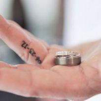 Tatoo wedding rings