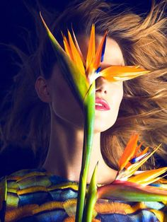 Kasia Struss for Harper's Bazaar Spain