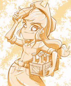 Applejack EqG by RainbowDangerDashii