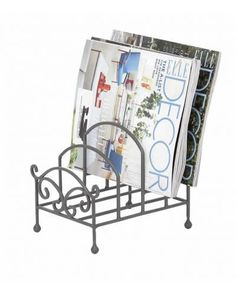 Magazine Rack Sectional Metal Holder  work to form a solid support for virtually any use you can imagine. Place it in the kitchen or in the office for a thousand-and-one uses. Store your favorite dinnerware for easy access, or organize the mail and the newspaper. This metal holder offers true simplicity. Made for practicality, made for elegance.