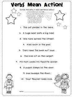 Adverb Worksheets for Elementary School - Printable & Free | K5 ...