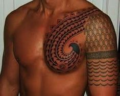 Hawaiian Tattoos And Meanings-Hawaiian Tattoo Designs And History Maori Tattoos, Maori Tribal Tattoo, Hawaiianisches Tattoo, Marquesan Tattoos, Samoan Tattoo, Tattoo Pics, Tattoo Images, Sleeve Tattoos, Hawaiian Flower Tattoos