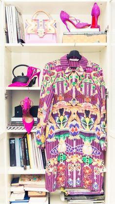 Mary Katrantzou FTW. http://www.thecoveteur.com/sofie-valkiers-fashionata/