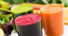 Irritable bowel syndrome can cause symptoms such as diarrhea or ulcerations. The IBS diet plan (including what trigger foods to avoid) is the answer. Healthy Juices, Healthy Drinks, Detox Juices, Detox Drinks, Healthy Food, Juice Smoothie, Smoothie Recipes, Juice Recipes, Cleanse Recipes